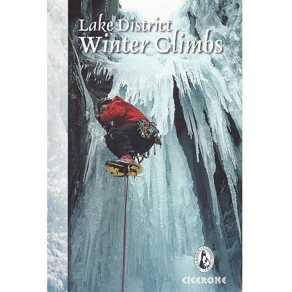 Lake District Winter Climbs (FRCC) climbing guidebook, front cover