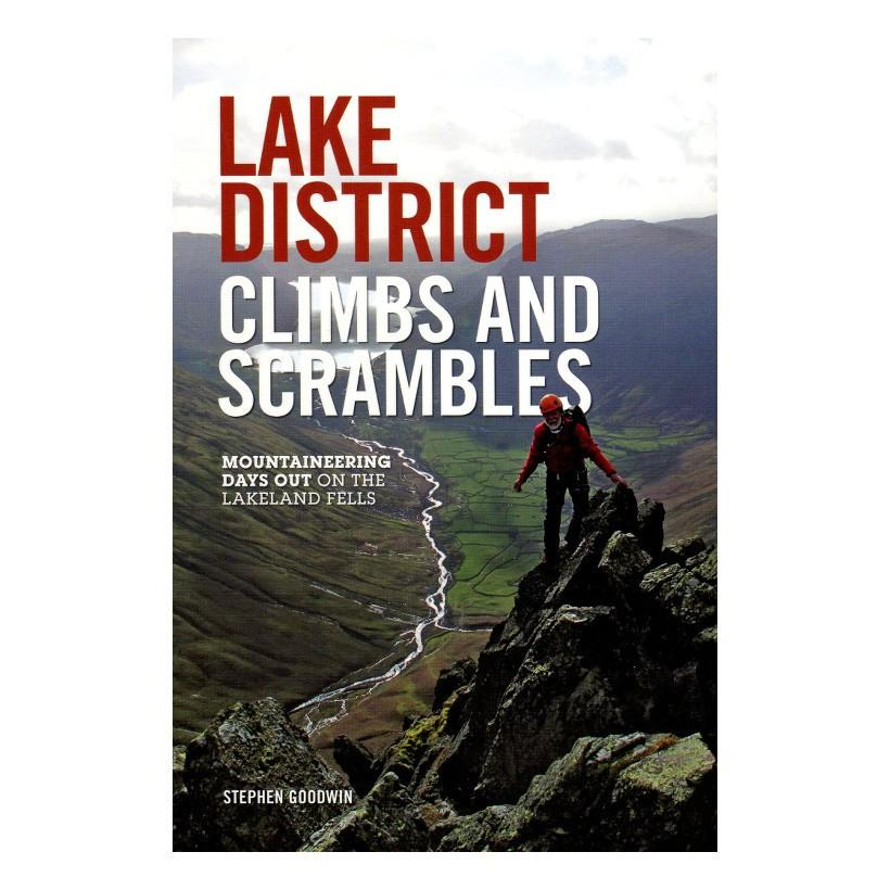 Lake District Climbs and Scrambles guidebook, front cover