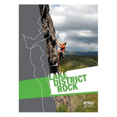 Lake District Rock climbing guidebook, front cover
