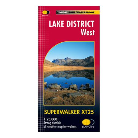 Harvey Maps Lake District West
