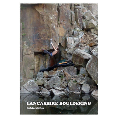 Lancashire Bouldering Guide, front cover