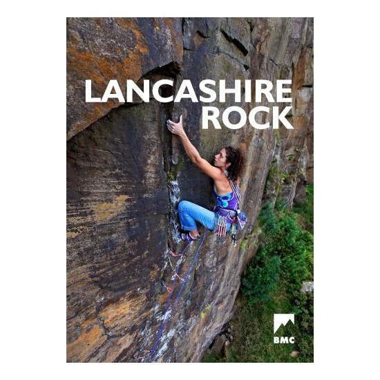 Lancashire Rock climbing guidebook, front cover