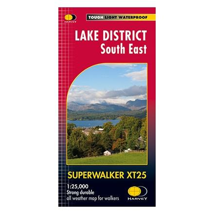 Harvey Maps Lake District South East