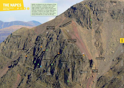 Lake District Rock guide, photo and topo examples