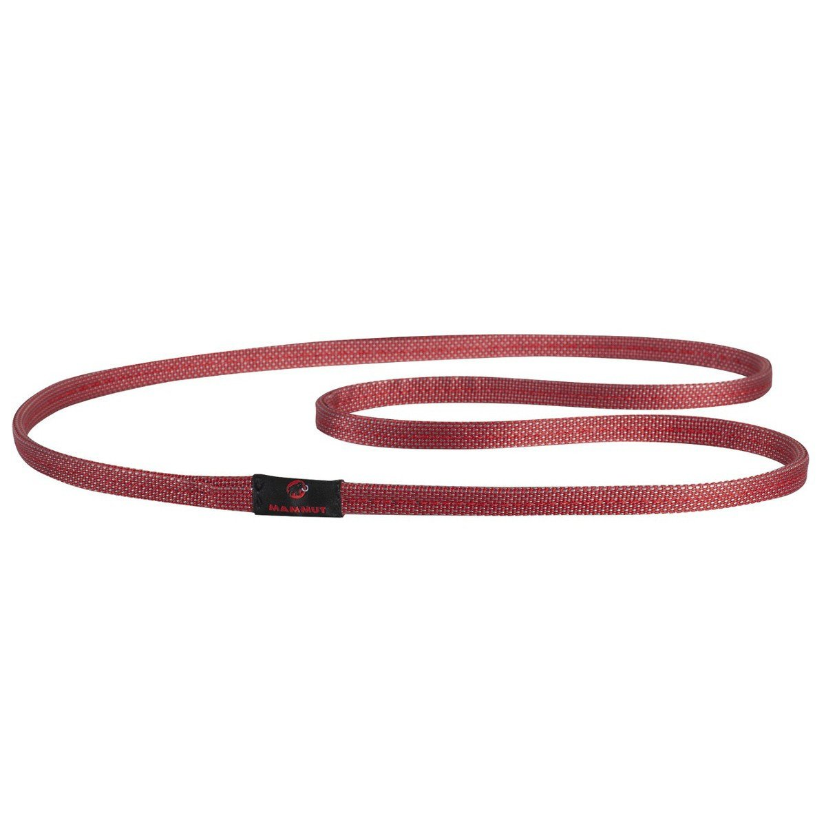 Mammut Magic climbing sling 12mm x 60cm, shown in red colour