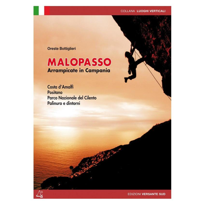 Malopasso: Climbing in Campania guidebook, front cover