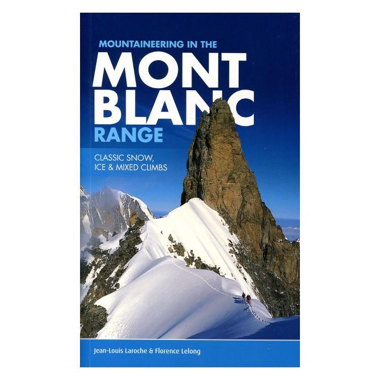 Mont Blanc Range climbing guidebook, front cover