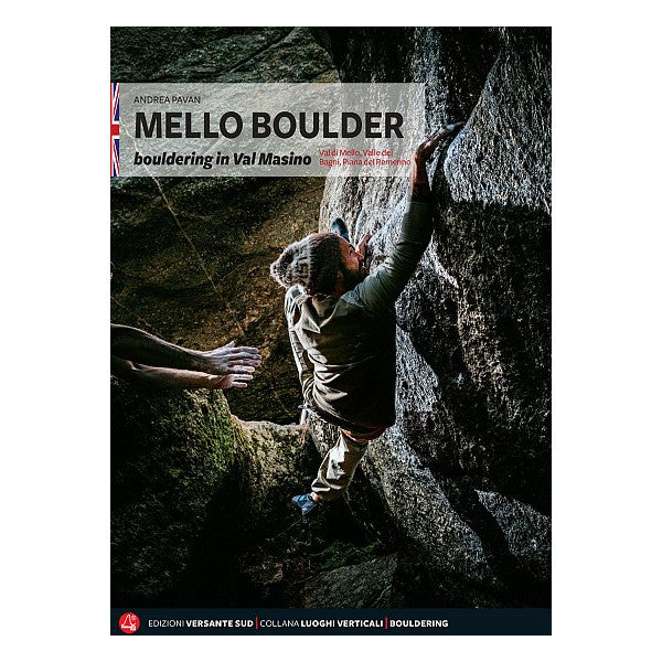 Mello Boulder bouldering guide book cover