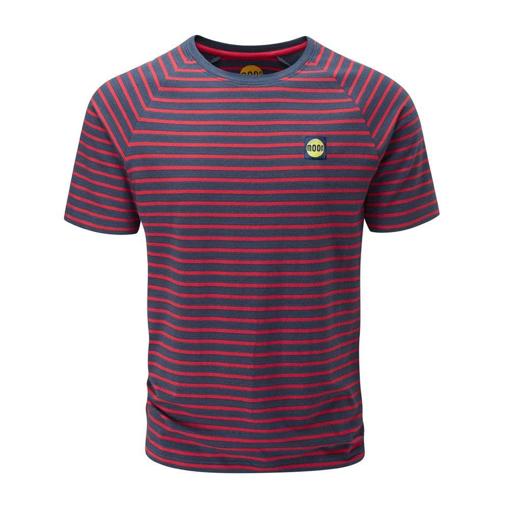 Moon Striped Bamboo Tech T-Shirt