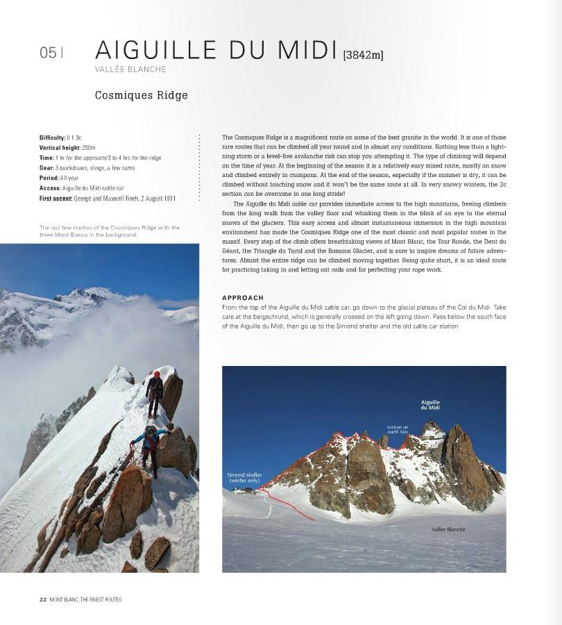 Mont Blanc: The Finest Routes, page examples