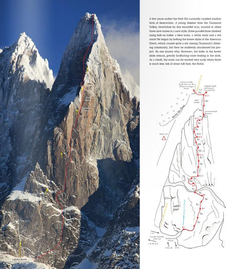 Mont Blanc: The Finest Routes, photo examples and maps