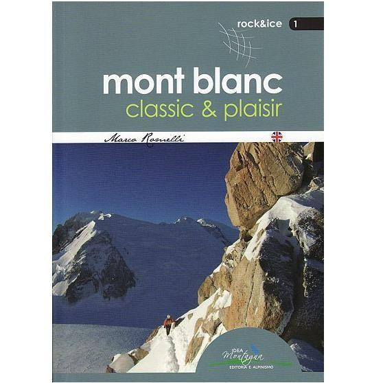 Mont Blanc Classic and Plaisir climbing guidebook, front cover