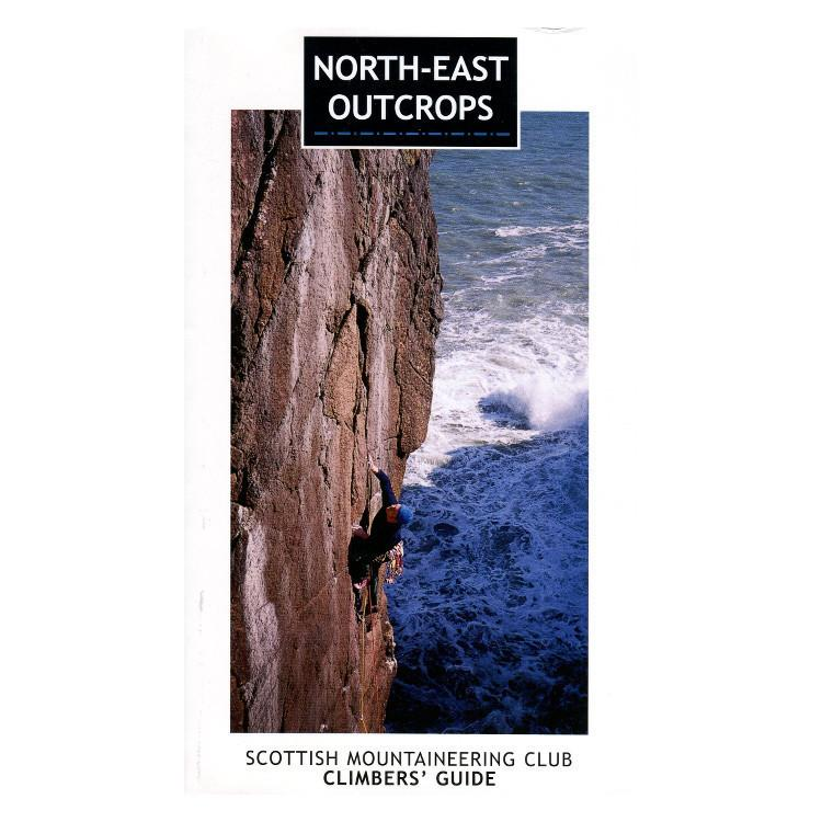 North East Outcrops climbing guidebook, front cover