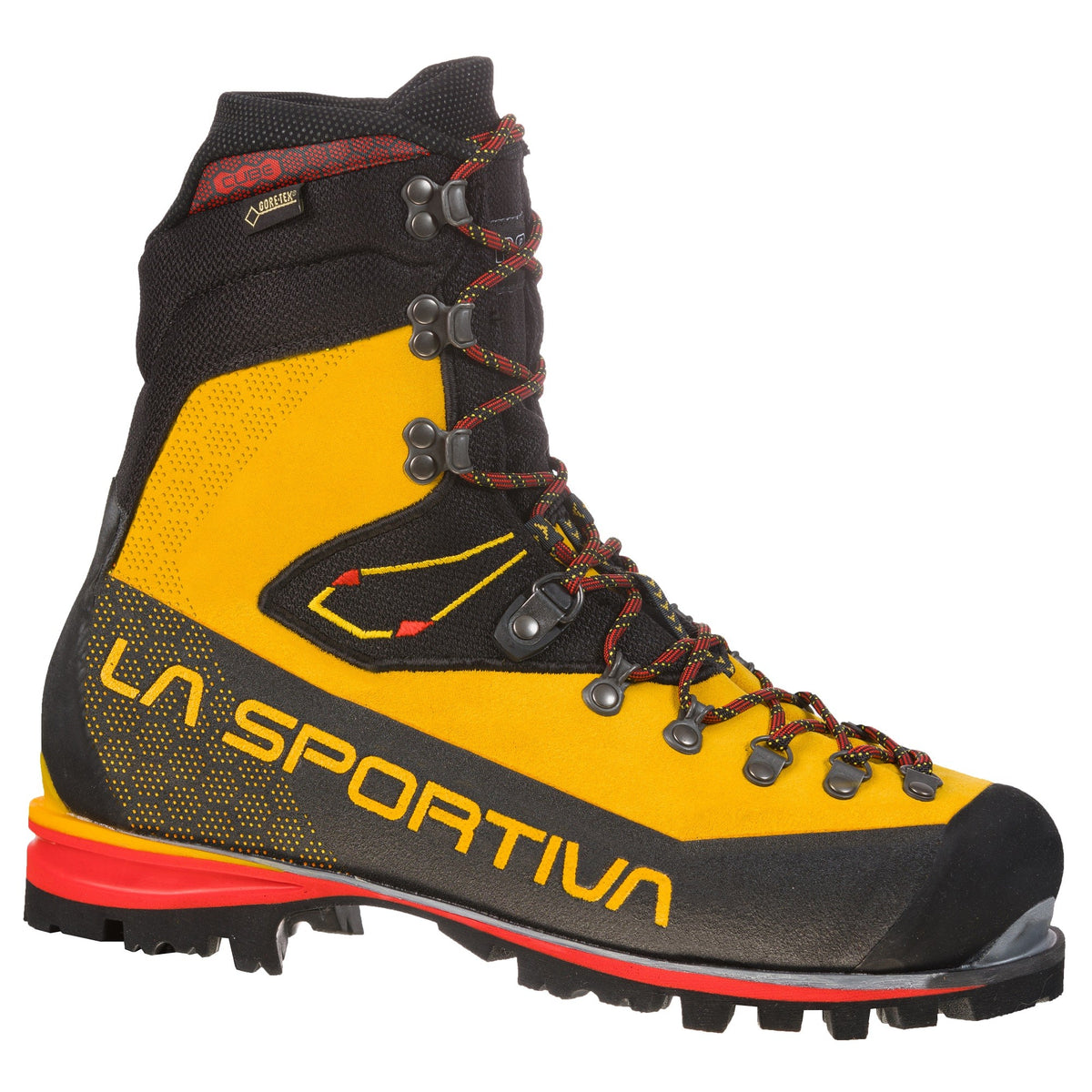 La Sportiva Nepal Cube GTX in Yellow, Black and Red