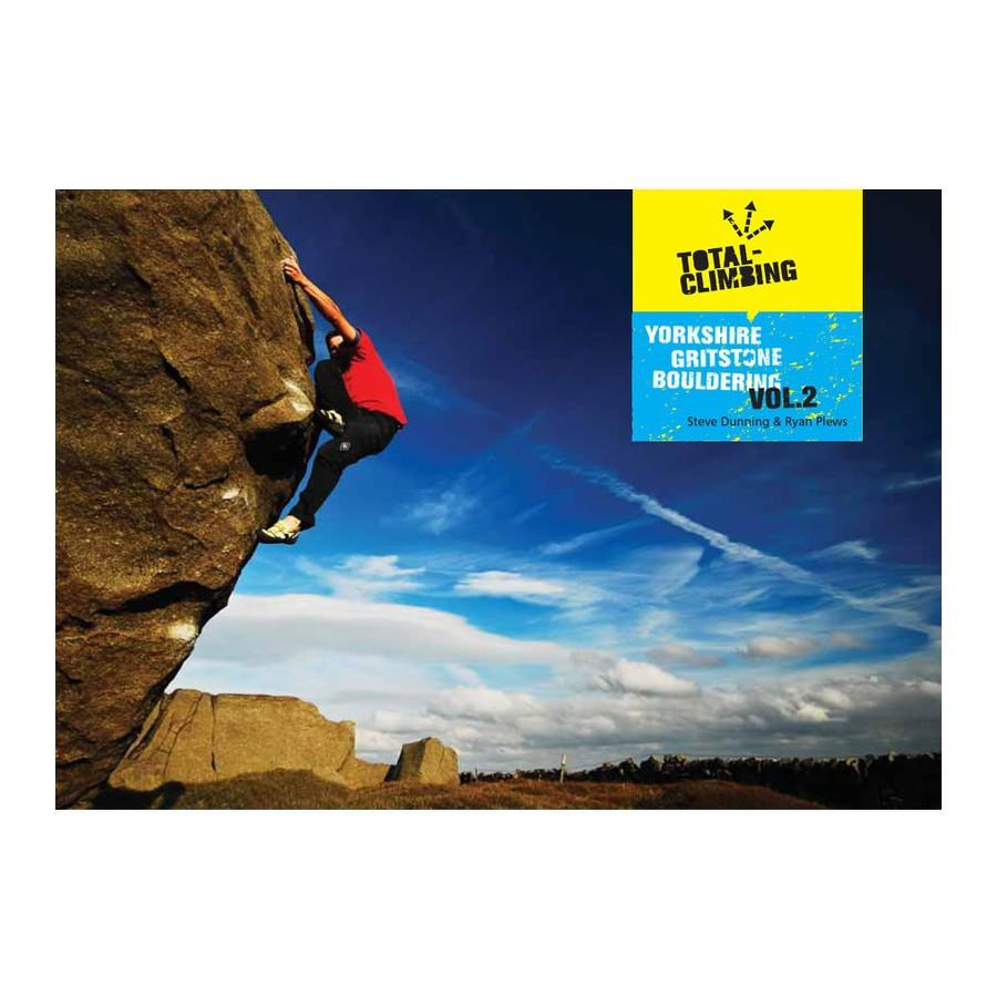 Yorkshire Grit Bouldering Vol 2 guidebook, front cover