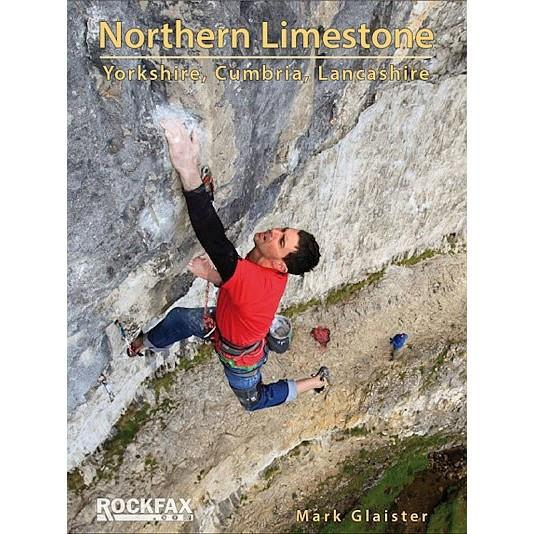 Northern Limestone: Yorkshire Cumbria Lancashire climbing guidebook, front cover