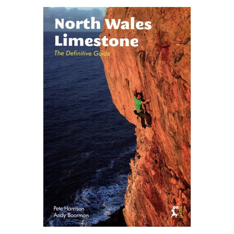 North Wales Limestone: The Definitive Guide, front cover