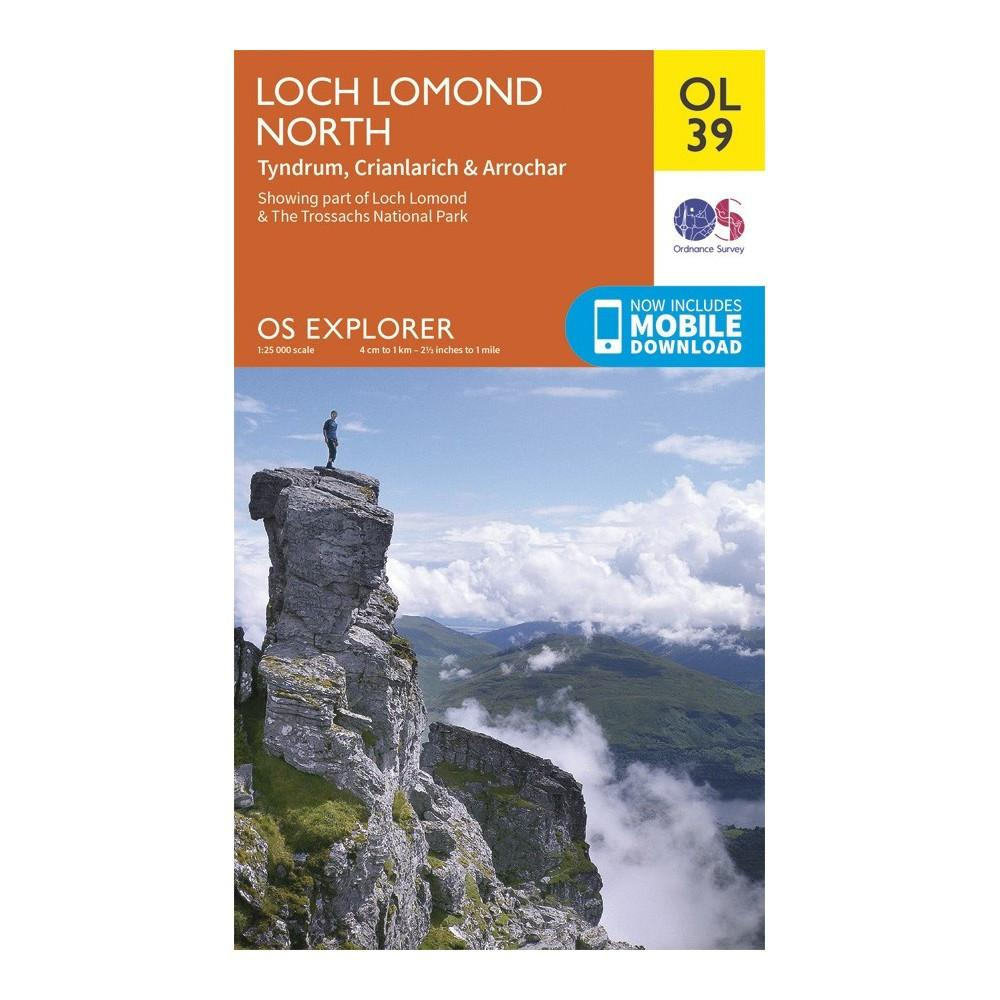 Loch Lomond North - OS Explorer Map 39