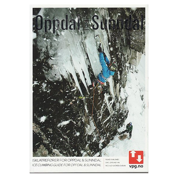 Oppdal and Sunndal ice climbing guide book cover