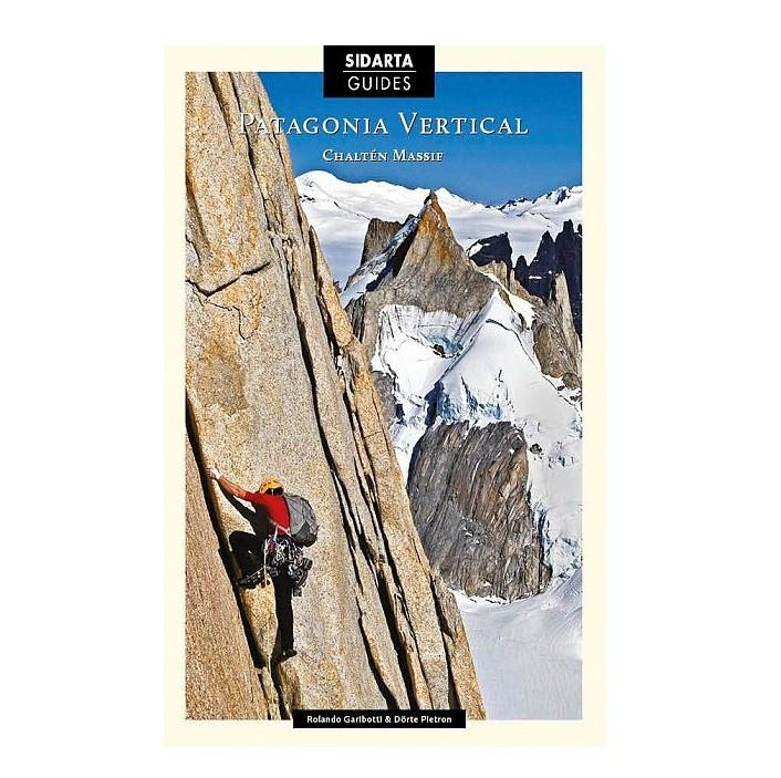 Patagonia Vertical climbing guidebook, front cover