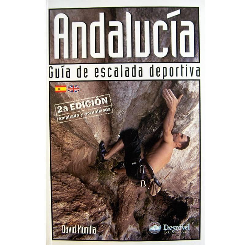 Andalucia Sport Climbing guidebook, front cover
