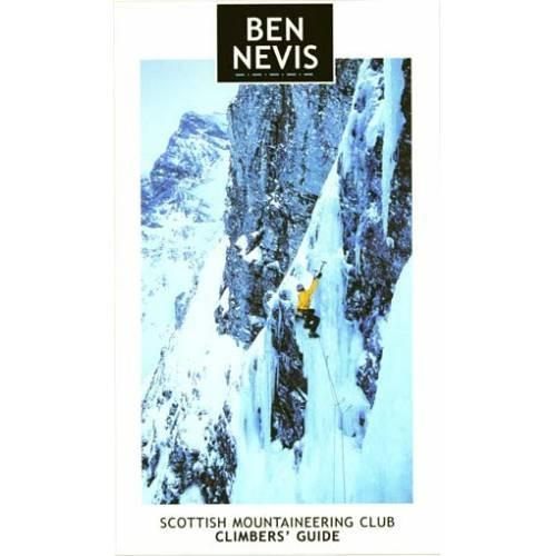 Ben Nevis Rock and Ice climbing guidebook, front cover