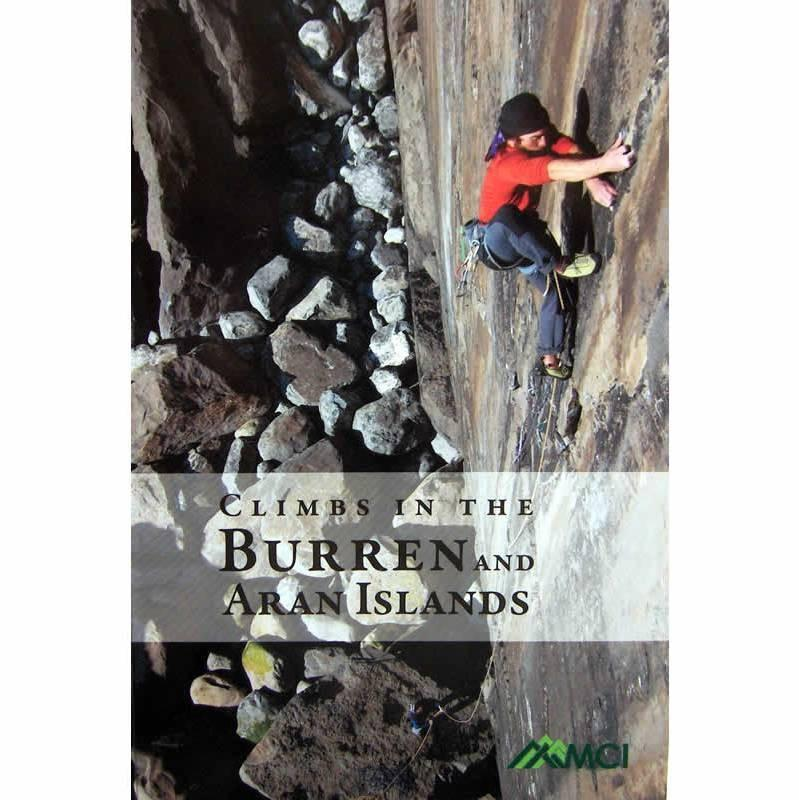 Burren and Aran Islands climbing guidebook, front cover