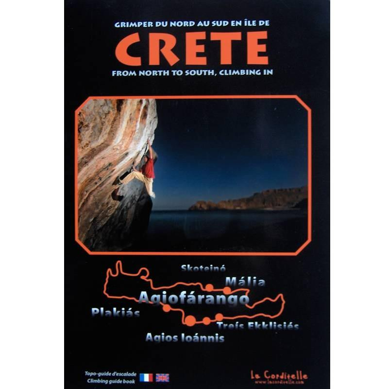 Crete Climbing From North to South climbing guidebook, front cover