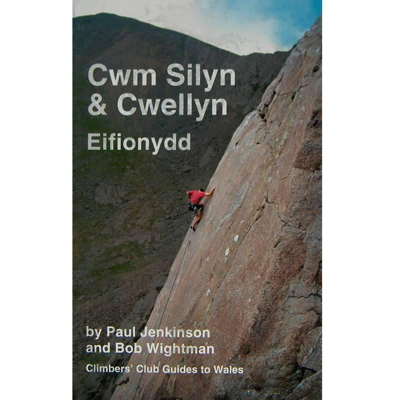 Cwm Silyn and Cwellyn climbing guidebook, front cover