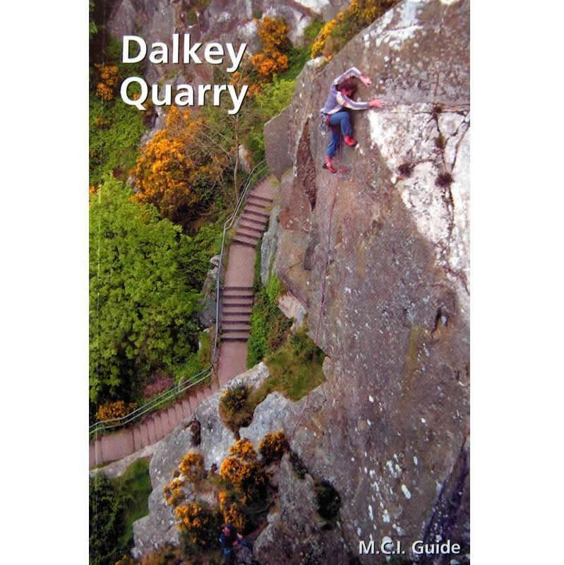 Dalkey Quarry climbing guidebook, front cover