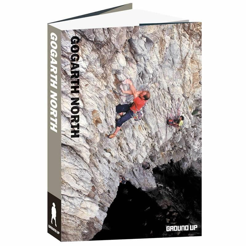 Gogarth North climbing guidebook, front cover