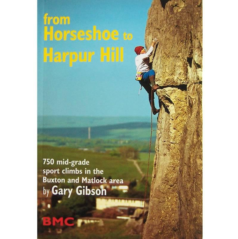 Horseshoe to Harper Hill climbing guidebook, front cover