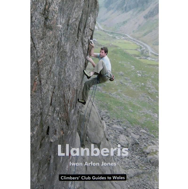 Llanberis climbing guidebook, front cover