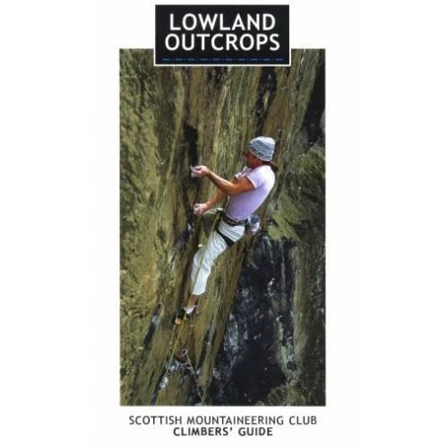 Lowland Outcrops climbing guide, front cover