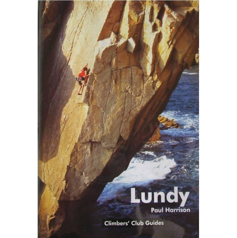 Lundy climbing guide, front cover