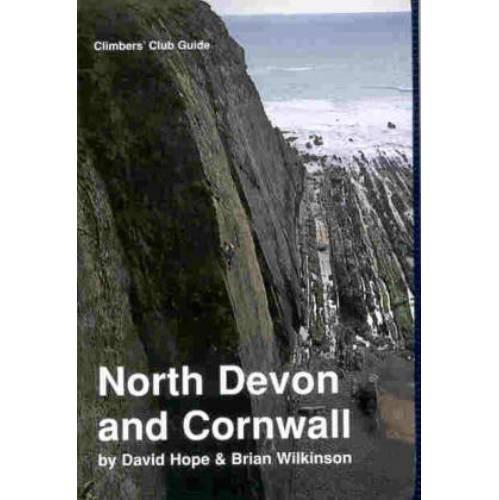 North Devon and Cornwall climbing guidebook, front cover