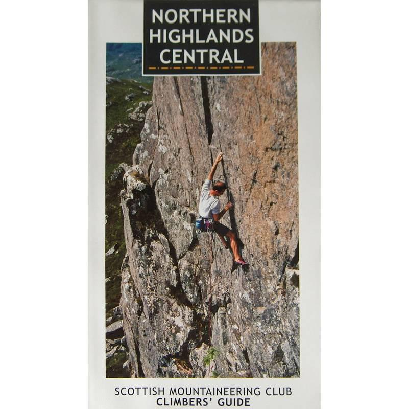 Northern Highlands Central (SMC) climbing guidebook, front cover