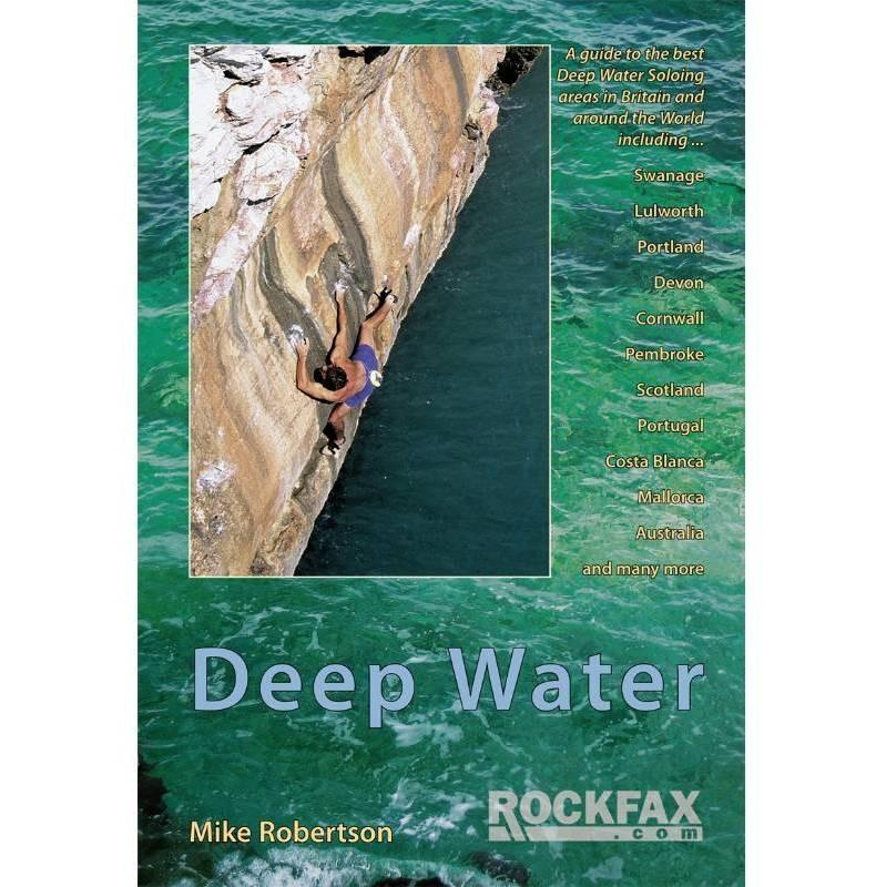 Deep Water climbing guidebook, front cover