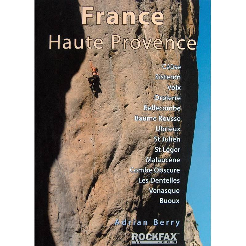 France: Haute Provence climbing guidebook, front cover