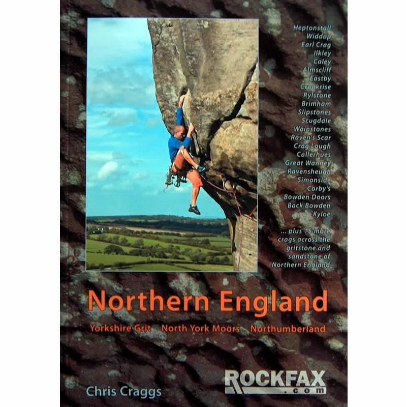 Northern England (Rockfax) climbing guidebook, front cover