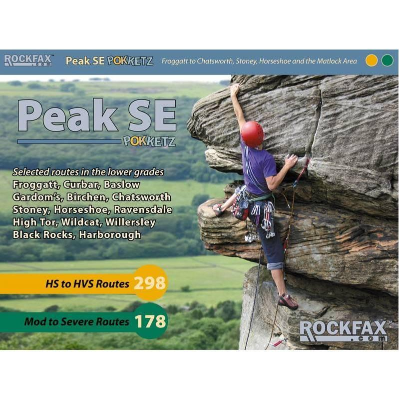 Peak SE Pokketz climbing guide, front cover