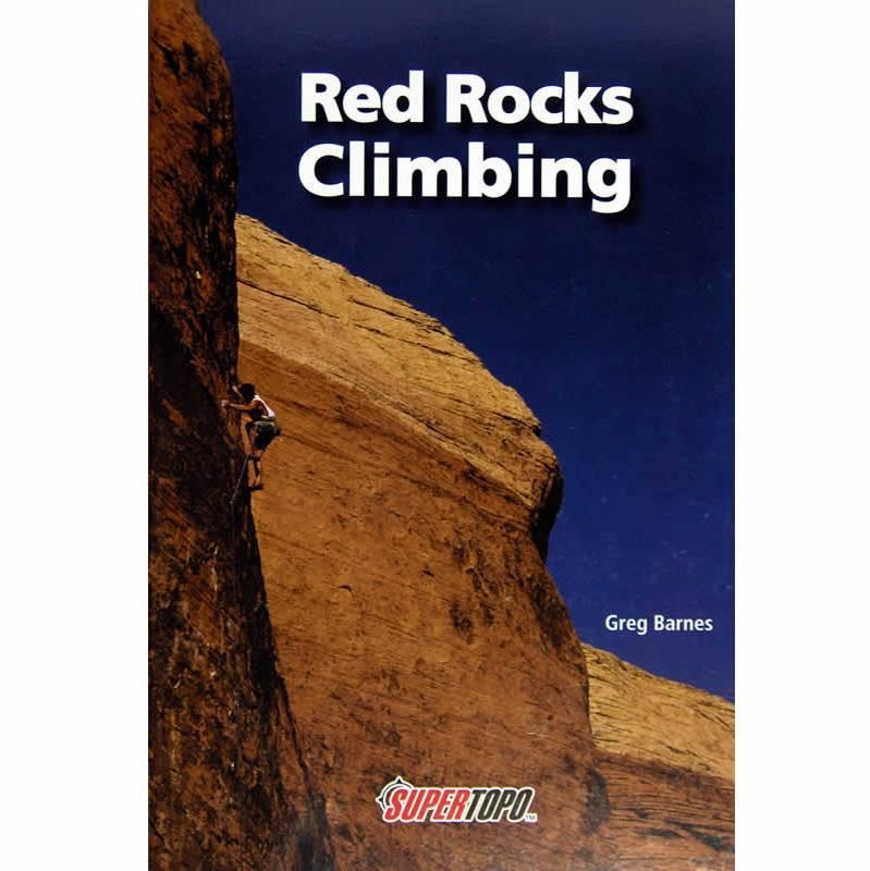 Red Rocks climbing guidebook, front cover