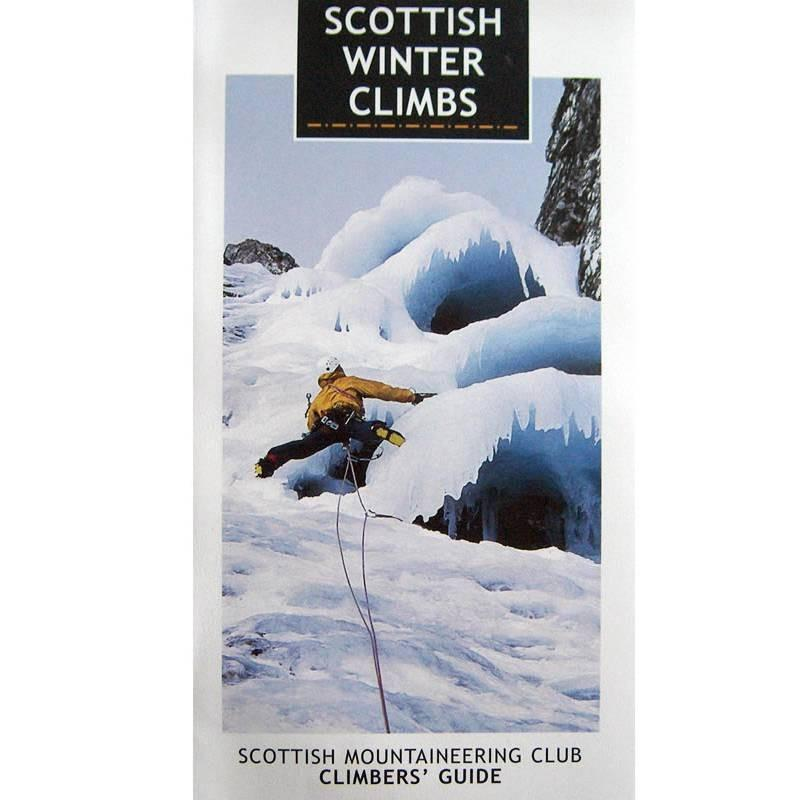 Scottish Winter Climbs guidebook, front cover