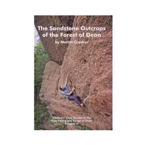 Sandstone Outcrops of the Forest of Dean climbing guidebook, front cover