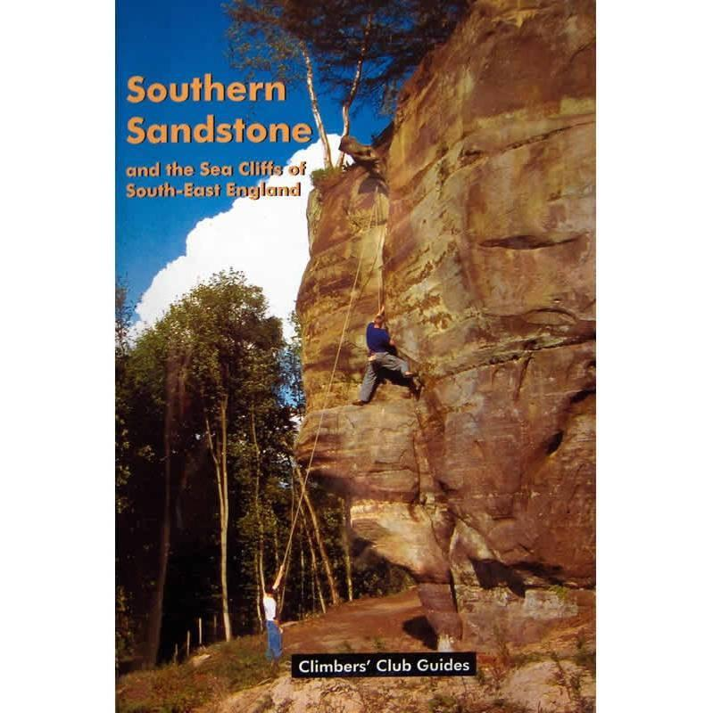 Southern Sandstone and Sea Cliffs climbing guidebook, front cover