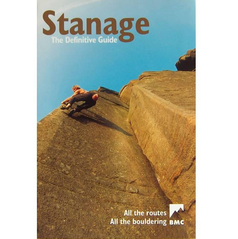 Stanage Definitive climbing guidebook, front cover