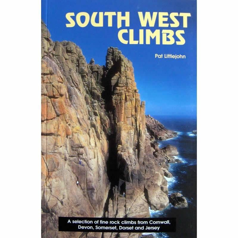 South West Climbs: Pat Littlejohn climbing guidebook, front cover