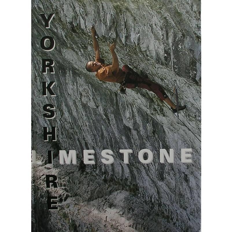 Yorkshire Limestone climbing guidebook, front cover