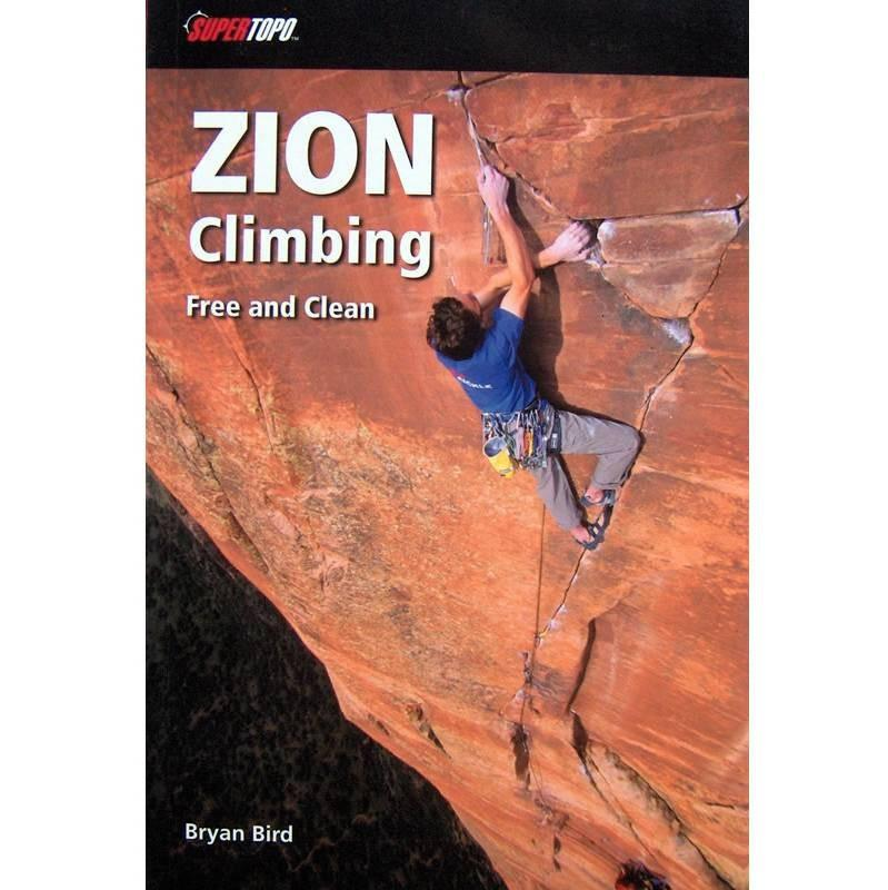 Zion Climbing guidebook, front cover