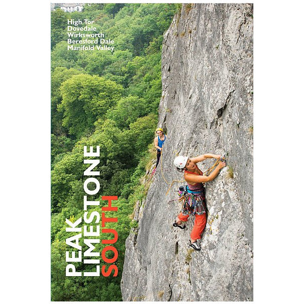 Peak Limestone South (BMC) climbing guidebook, front cover